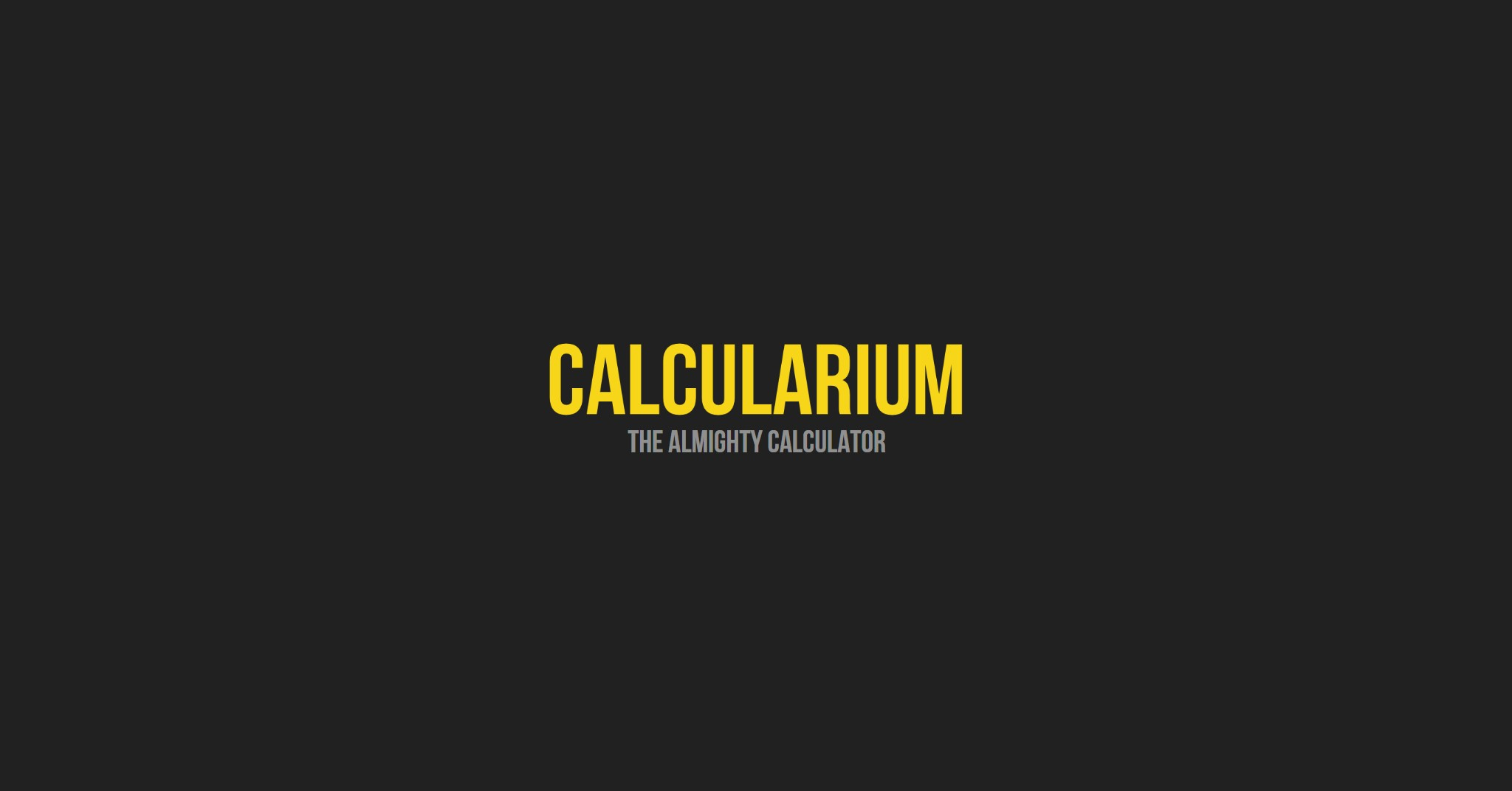 Calculairum