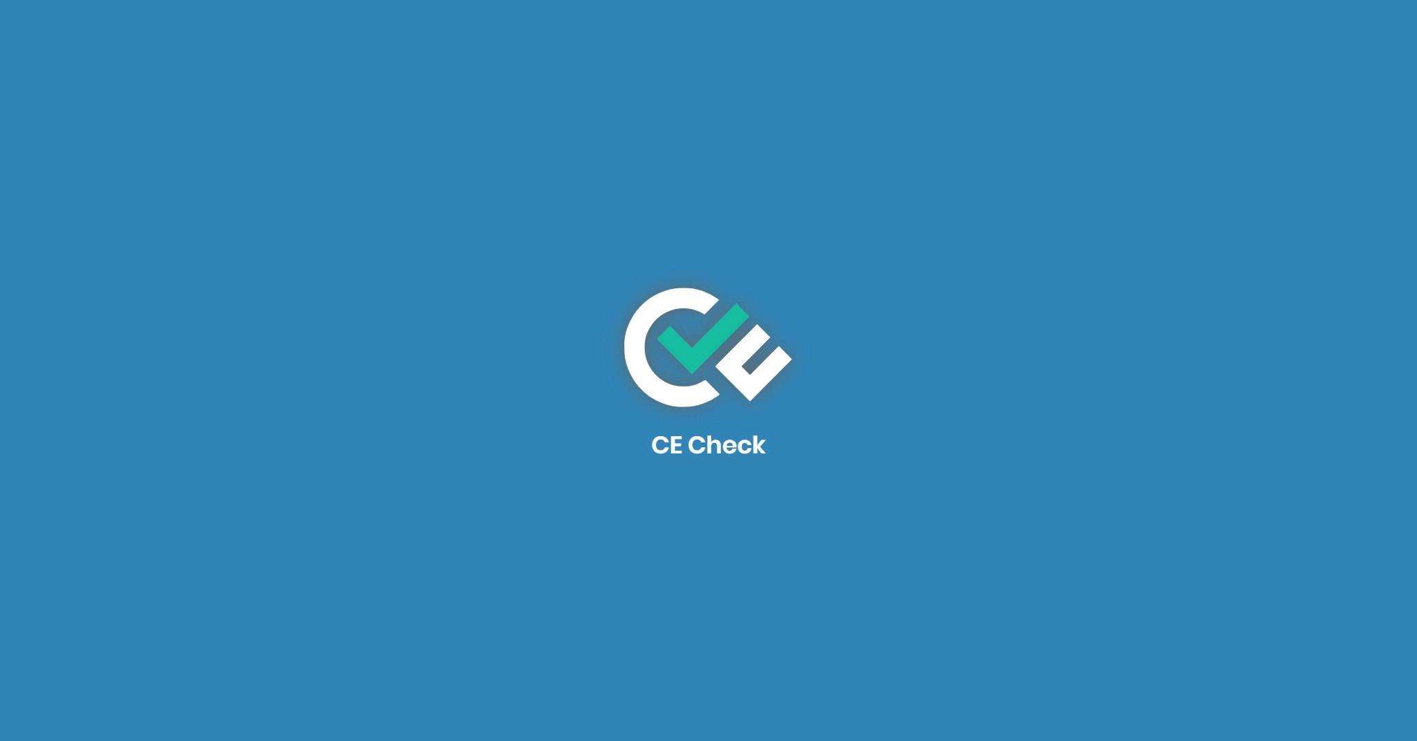 CE Check