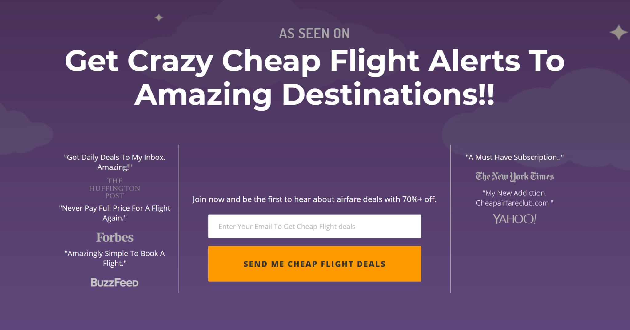 Cheap Airfare Club