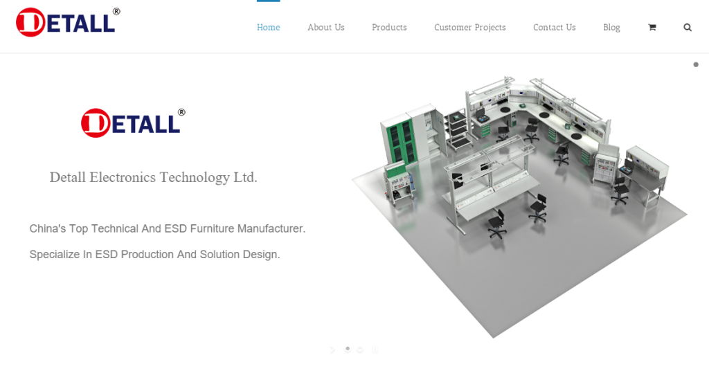 Detall Technical And ESD Furniture