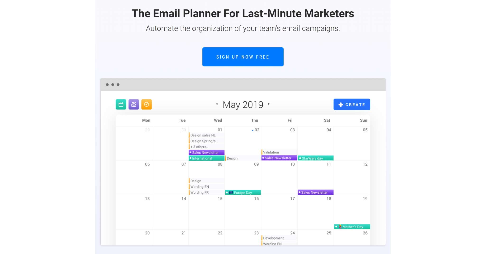 Email Planner