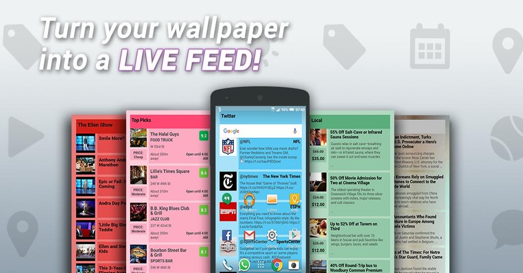 Fondo - interactive wallpaper