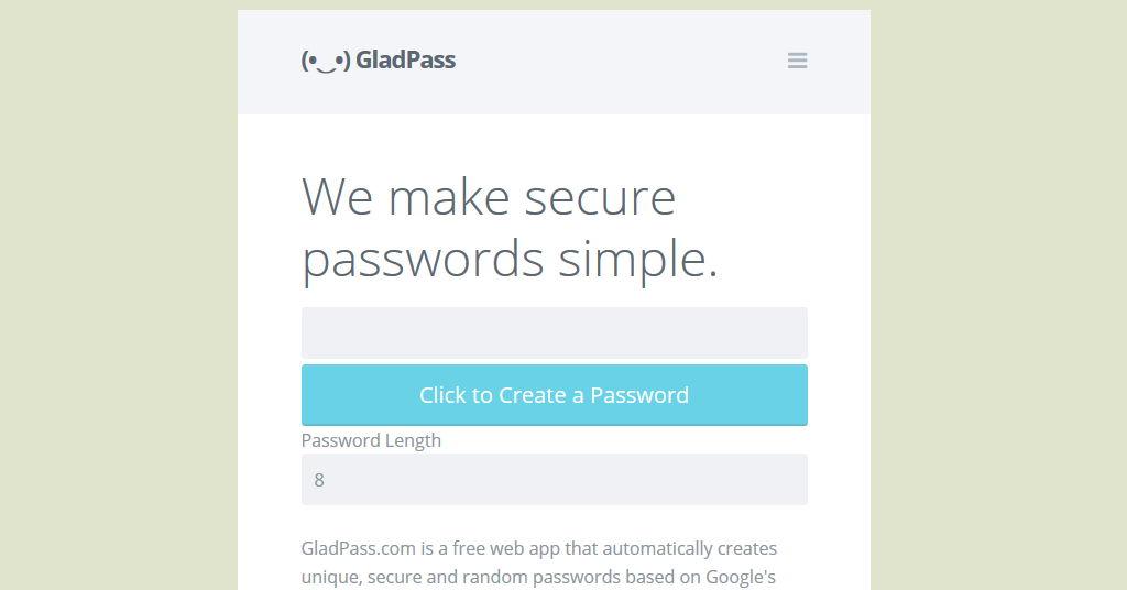 GladPass
