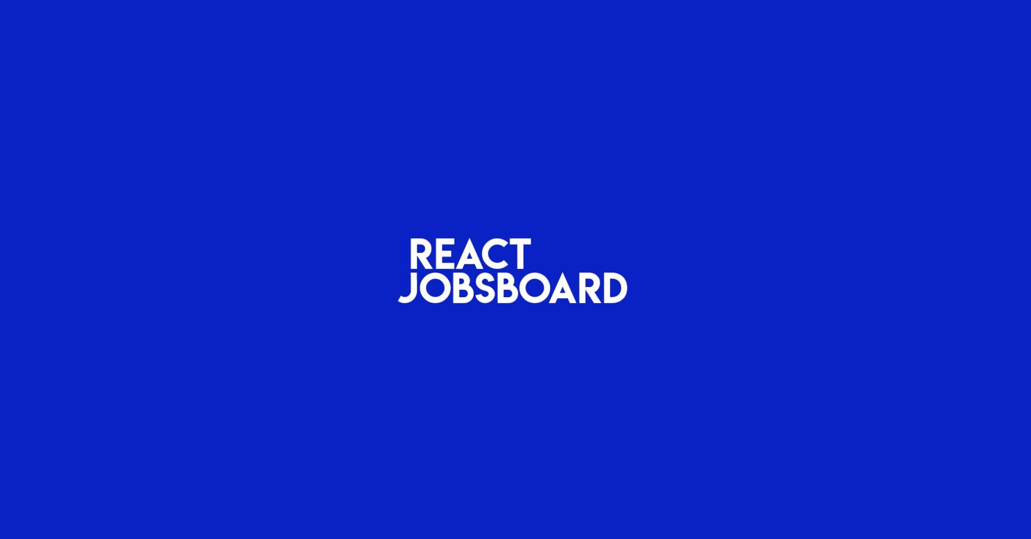 ReactJobsBoard