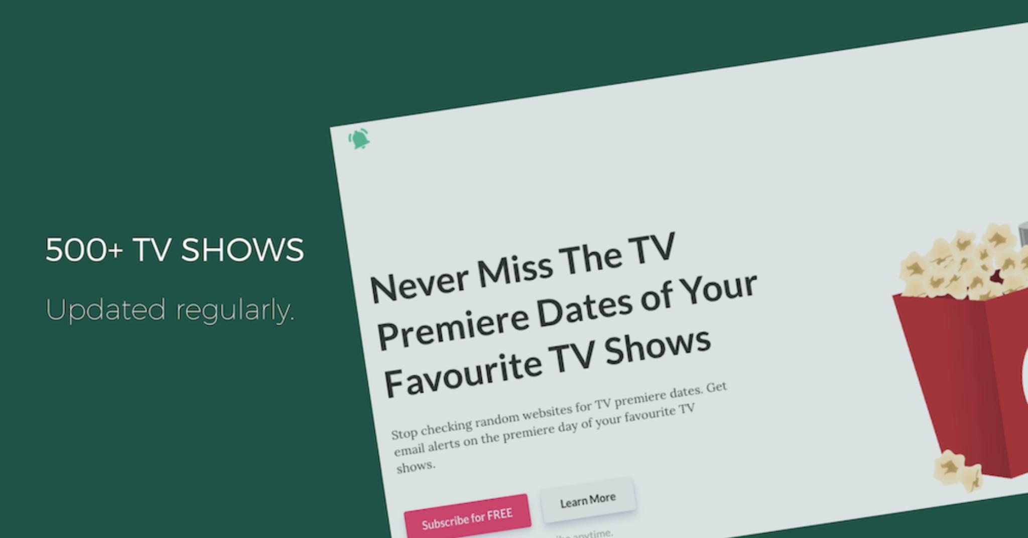 TV Premiere Alert